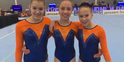 Romy Schepens, Celeste Canaan, Guylene Brunneman